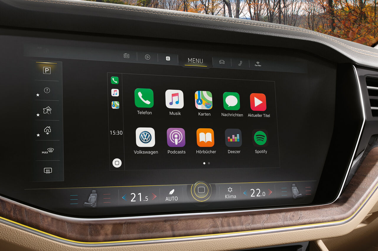 vw touareg App-Connect