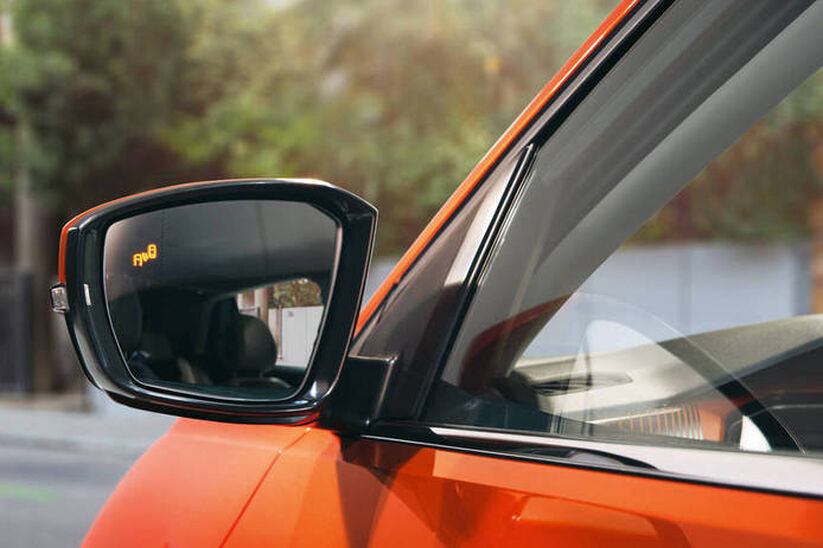VW T-Cross - Blind-Spot senzor