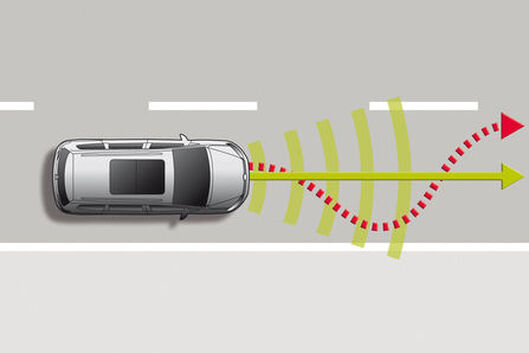 VW Sharan - Lane Assist