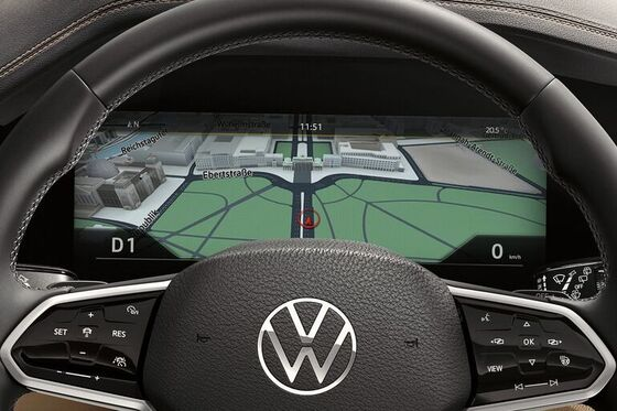 vw touareg digital cockpit