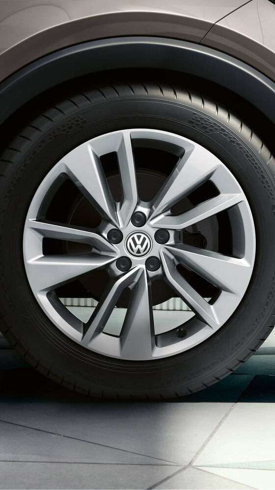 VW T-Cross - detail kola Bangalore
